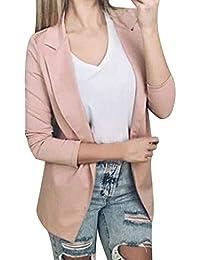 d4f3941c7 Amazon.es: Rosa - Trajes y blazers / Mujer: Ropa