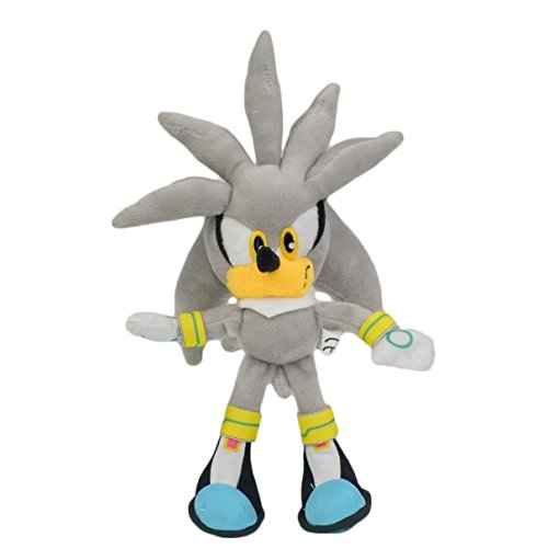 Desconocido Sonic - Peluche Silver Sonic 20cm / Stuffed Plush Toy 6'