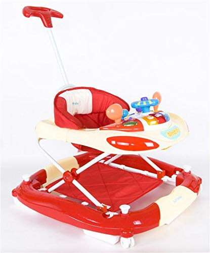 Sun Baby Walker/Rocker, color crema/rojo