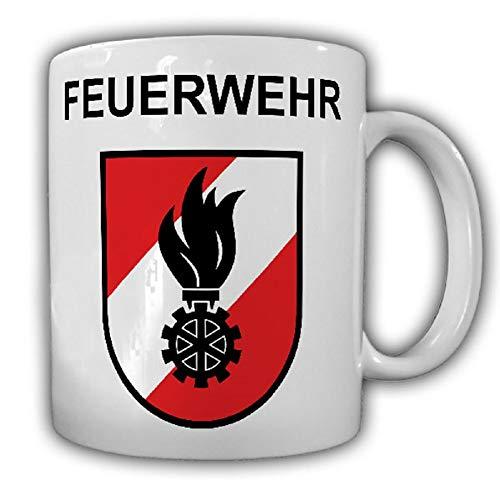 Feuerwehr Österreich Austria Korpsabzeichen Freiwillige FFOE - Tasse #25512