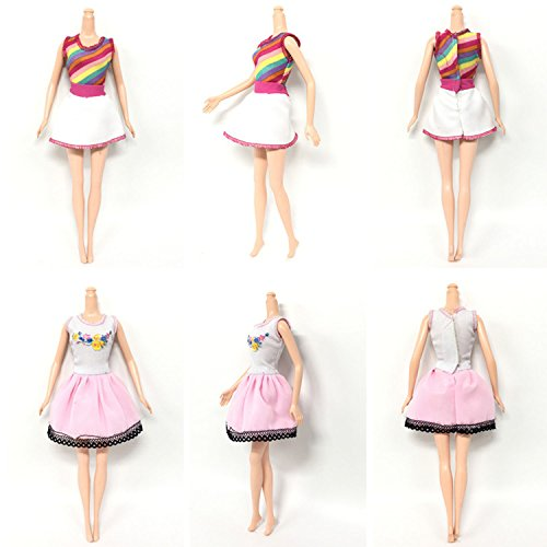 238136b663de Abito per Barbie 8PCS