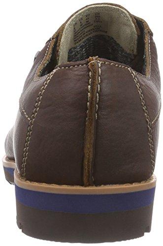 Clarks Padleylace Gtx, Derby homme Marron (Tobacco Leather)
