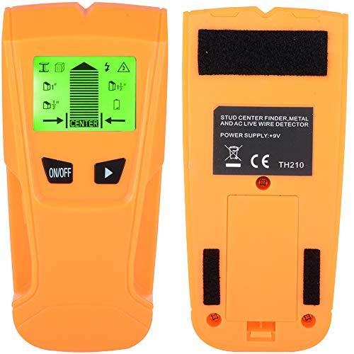 Semoss 3 en 1 Detector de Metales Profesional Stud Finder Herramientas Sonstruccion Detector de Pared para Metal Madera Tuberias y Cables con Pantalla LCD