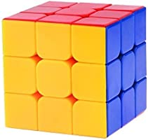 higadget 3X3X3 Speed Cube, High Stability Stickerless Cube, Rubik Cube for Kids, Magic Cube