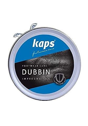Qualité Dubbin Cire, nourrit et imperméabilisant pour chaussures pour cuir, Kaps Dubbin, 3couleurs, noir, 50 ml