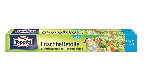 Melitta Toppits Frischhalte-Folie, 3er Pack (3 x 20 Meter)