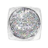 Nägel eintauchen Pulver keine Flüssigkeit fließen Gold Spiegel Pulver Chrom-Effekt Nagellack Folie Nägel Art Glitter Silber DIY Nagellack