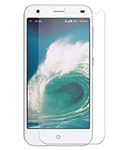 Lyf Earth 2 Compatible Tempered Glass Screen Protector (Antishock, Curved Edged) (Pack of 2, Only Front Transparent) (Combo Offer, get a VJOY 7800 mAh Power-Bank CYAN) (1 Year Replacement Guarantee, Li-ion Battery, Long Battery-Life) worth Rupee 2100/- absolutely free with Screen Protector)