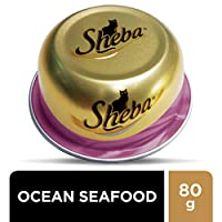 Sheba Ocean Cocktail Wet Food for Cats - 80 gm