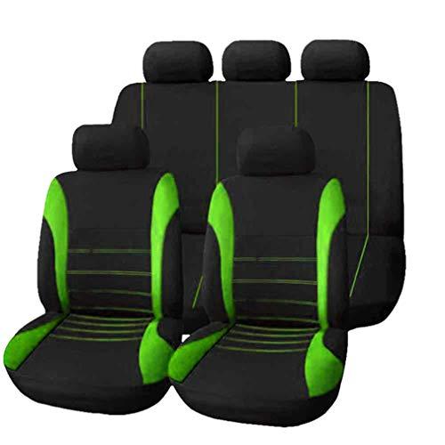 HotYou Copri-sedili Auto Universale   Set Copri-Sedile Universali per Anteriori e Posteriori   Accessori Auto Interno,Rimovibile e Lavabile,V