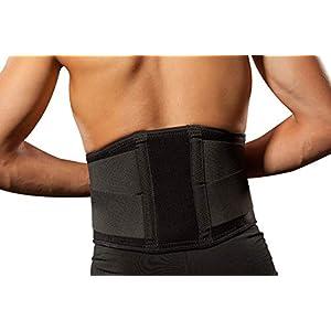 Hochwertige Rückenbandage/Rückenstütze LOREY-LU10008 aus Neopren