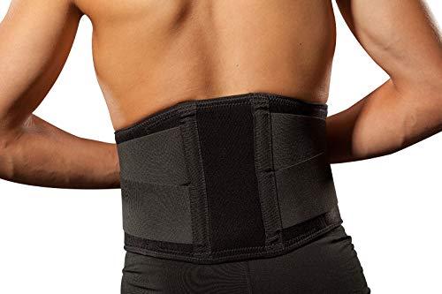 Hochwertige Rückenbandage/Rückenstütze LOREY-LU10008 aus Neopren XL
