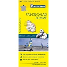 Carte Pas-de-Calais, Somme Michelin de Collectif Michelin ( 1 avril 2015 )