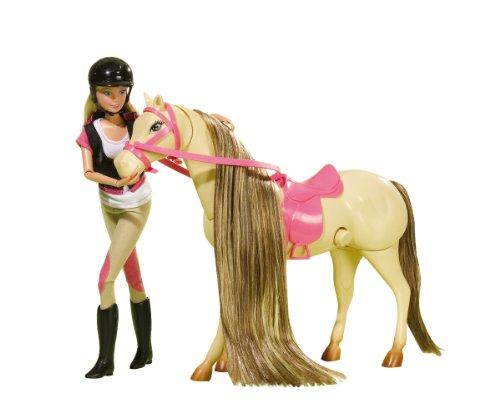 Simba 105733123 - Steffi Love Puppe mit Pferd