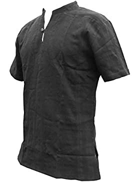 Panasiam FISC Herman Camicia, in 100% genuino freshrunk cotone, M, L o XL