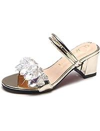 GTVERNH-bene i tacchi tacchi a spillo sandali summer trasparente 11cm sexy tallone scarpe da donna albicocca trentotto