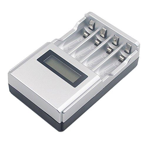 Artistic9 Stunde SUPER Fast LCD AA/AAA Netzladegerät NiMh oder NiCad UK Stecker Aa Nicad