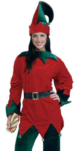 Forum Novelties Men's Plus-Size Santa's Helper Set Adult Costume, Multi, X-Large