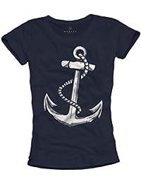 Ausgefallenes Damen T-Shirt mit ANKER Motiv