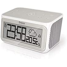 Oregon Scientific CIR100 Smart Internet Radio Orologio, Nero, 14 x 8 x 8 cm (Ricondizionato)