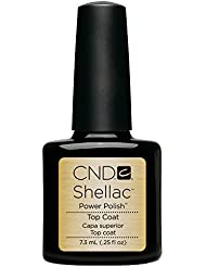 CND Shellac Vernis à Ongles Gel Top Coat 7,3ml 7,3 ml