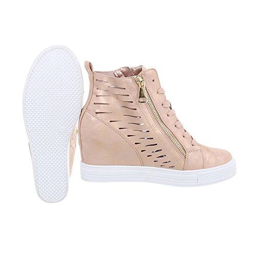 Sneakers Alte Italdesign Zeppa Scarpe Donna Da UwPOF0qwx