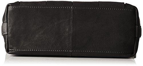 GERRY WEBER Damen Toledo Shoulderbag Lvz Schultertasche, 11 x 27 x 27 cm Schwarz (Black)
