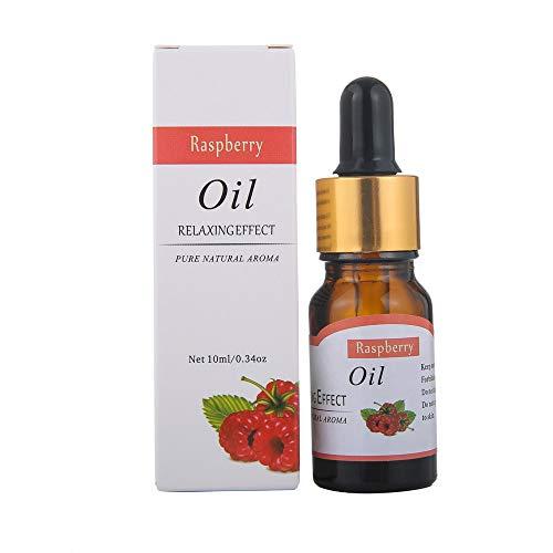 TAOtTAO 12 Fruchtaromen 10ml ätherische Öle Reine natürliche Aromatherapie-Öle wählen Duft Aroma Flower (Himbeere) - Luftbefeuchter Additiv Duft