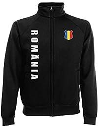 Rumänien Romania Sweatjacke Jacke Trikot Wunschname Wunschnummer