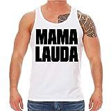 Männer und Herren NEON Tank Top Träger Shirt Sprüche Malle Mallorca Mama Lauda Größe XS - XXL
