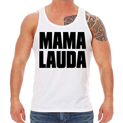EON Tank Top Träger Shirt Sprüche Malle Mallorca Mama Lauda Größe XS - XXL ()