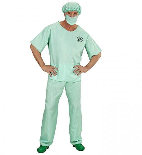Room Kostüm Emergency - shoperama Notarzt Kostüm für Herren Doktor Arzt Chirurg Doc Emergency Room Doctor, Größe: M