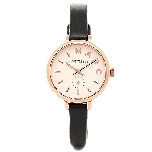 Marc by Marc Jacobs Women's Sally MBM1352 Black Leather Quartz Fashion Watch (Marc Jacobs Black Watch)