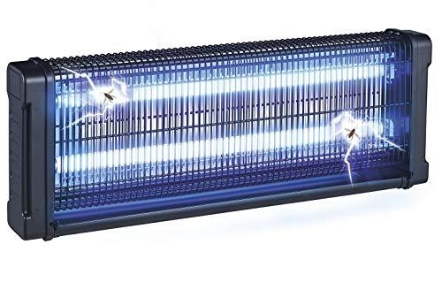 Gardigo 62405 - Lampara Matamoscas Electrico 150m²; Luz Ultravioleta UV 40 W Anti-Polillas, Insectos...