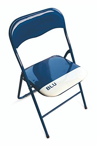 Sedie Pieghevoli Per La Casa.Galileo Casa 2403882 Color Chair Set Di 6 Sedie Pieghevoli Pvc