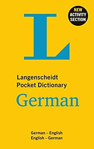 Langenscheidt Pocket Dictionary German: Deutsch-Englisch/Englisch-Deutsch (Langenscheidt Pocket Dictionaries)