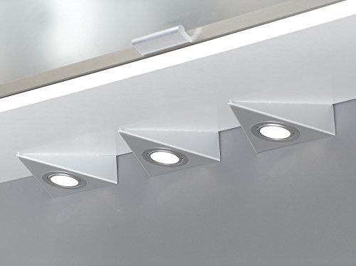 """Delta Maxi 2er Set LED edelstahl mit Zentralschalter """"Made in Germany"""" [55672082]"""