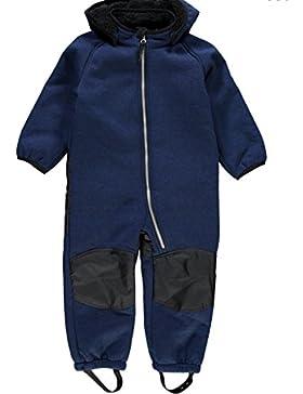 Name it 13138217 Nitbeta Softshell Teddy Anzug Overall Regenanzug Allwetteranzug KITA blau Gr. 80