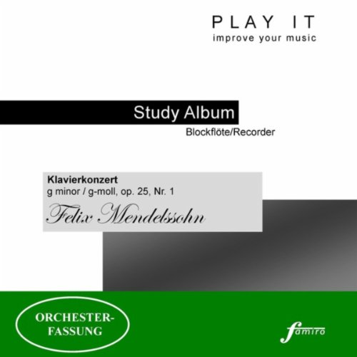 Klavierkonzert In G Moll Op 25 No 1 Stimmton A 442 Hz Von