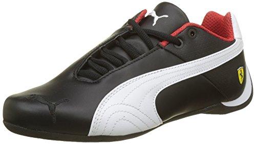 Puma Unisex-Erwachsene SF Future Cat OG Sneaker, Schwarz Black White Black, 42.5 EU (Cat Ferrari Puma)
