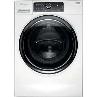Whirlpool FSCR10432 Autonome Charge avant 10kg 1400tr/min A+++ Noir, Blanc machine à laver - machines à laver (Autonome, Charge avant, Noir, Blanc, boutons, Rotatif, 1,2 m, 10 kg)
