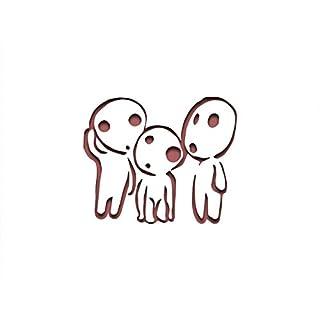 PixieBitz Kodama Ghibli, Schablone inspiriert–30,5x 20,3cm–190Mu Mylar A, Airbrush, Craft, Grafitti st-ml-an-00010