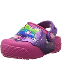 Crocs Fun Lab Lights Clog Kids, Zuecos Unisex niños