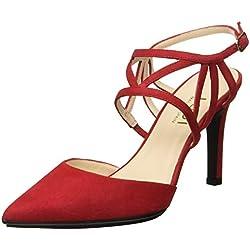 lodi RAIDIS-TP, Zapatos de tacón con Punta Cerrada para Mujer, Rojo Tristan, 39 EU