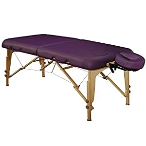 Master Massage 70cm Midas Girl Brust Mobil tragbar Massageliege Massagebett Massagebank Kosmetikliege in Lila America Brand