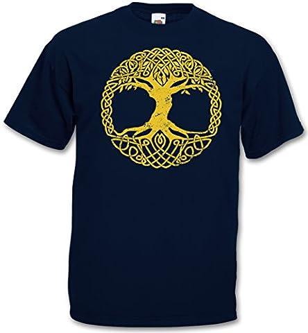 YGGDRASIL TREE LOGO IV T-SHIRT - Arsen Celtic Irminsul Of Thor Celtes Teutons Life Odin Loki Ragnarök Tailles S - 5XL
