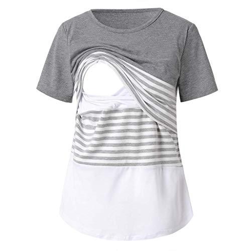 5a159723f SamMoSon 2019 Jersey Camison Ropa Premama Verano Sujetador Lactancia  Vestidos para Camison