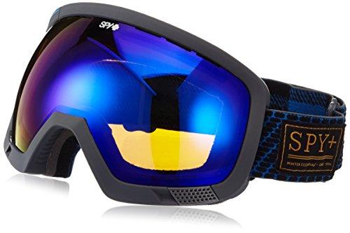 Spy Snow Goggle Platoon with Bonus Lens Undercover Bronze Dark Blue Spec, One Size