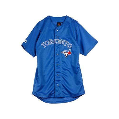 Majestic Athletic MLB Baseball Trikot Jersey Toronto Blue Jays blau (X-Large) -