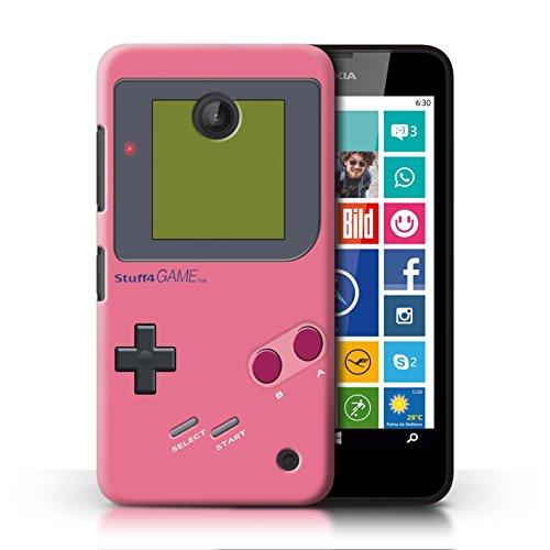 Stuff4 Hülle / Case für Nokia Lumia 635 / Rosa Muster / Videogamer/Gameboy Kollektion